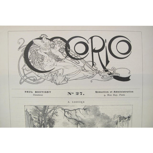 When Paul Emile Boutigny began publishing Cocorico in 1898, Alphonse Mucha designed the first cover of the magazine and...