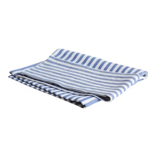 Madrid Pillowcase King Blue Stripe For Sale