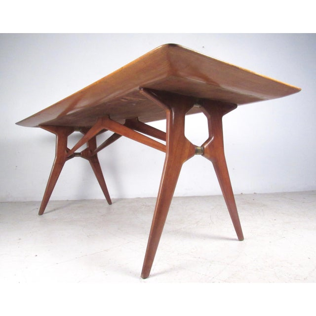 Italian Modern Parisi-Style Dining Table - Image 3 of 11