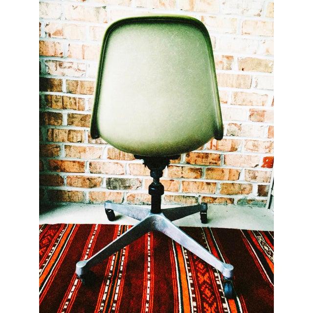 Herman Miller Eames Upholstered Fiberglass Shell Chair - Vintage - Image 4 of 8