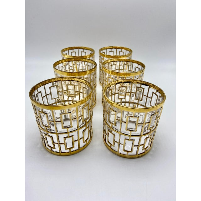 If you're looking for sexy, Hollywood Regency style glasses, here you have them. These vintage glasses were manufactured...