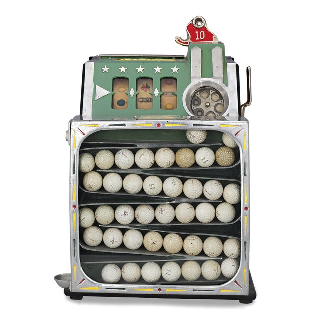 Art Deco The Comet Golf Ball Vendor by Pace For Sale - Image 3 of 4