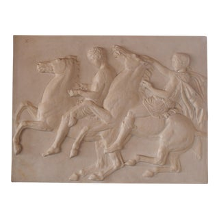 Plaster Cast Reproduction of Parthenon Frieze X
