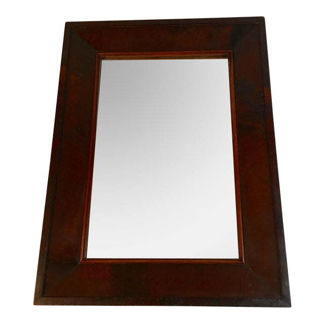 Antique Mahogany Mirror - Image 1 of 7