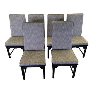 1970s Raymond K Sobota for Century Furniture Chin Hua Dining Chairs - Set of 6 For Sale