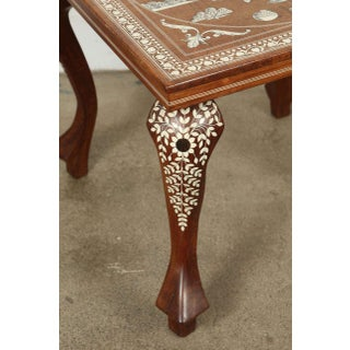20th Century Anglo Indian Inlaid Square Side Table Preview