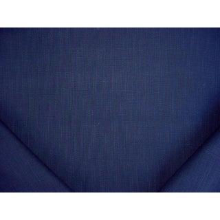 4y Ralph Lauren Lfy65659f Sunbaked Linen Indigo 100% Linen Upholstery Fabric For Sale
