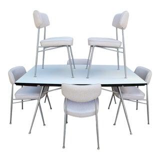 Daystrom Mid-Century Modern Steel Dining / Dinette Set For Sale