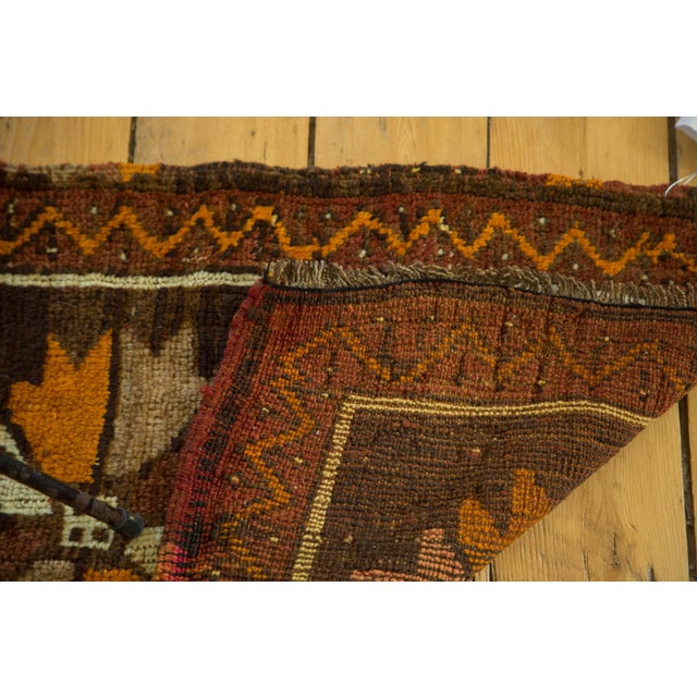 "Vintage Turkish Oushak Mat - 1'10"" x 3'2"" For Sale - Image 4 of 5"