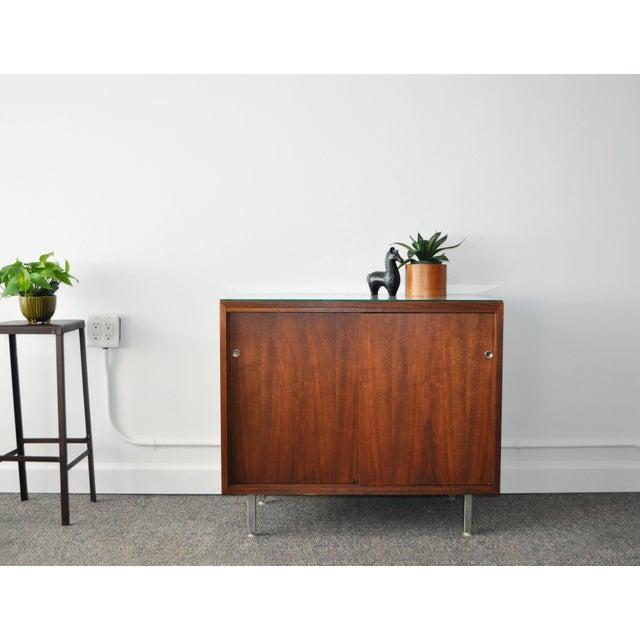 Mid-Century Modern Walnut Cabinet - Image 3 of 10