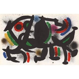 1970 Joan Miro V1-8d, Mourlot Original Lithograph For Sale