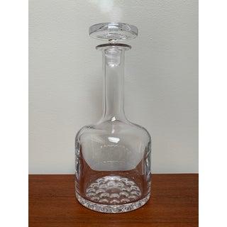 1960s Scandinavian Modern Minimalist Glass Decanter by Ronald Stennett Willson for Wedgwood Preview