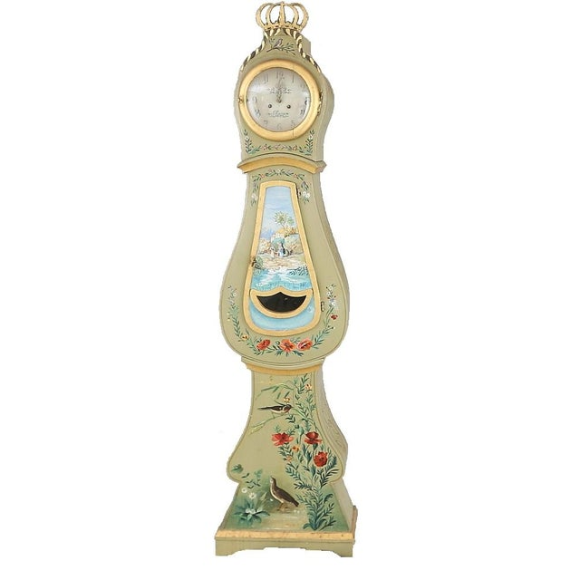 Antique Swedish Mora Clock - Image 1 of 6