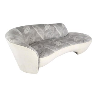 Modern Sculptural Slipper Sofa
