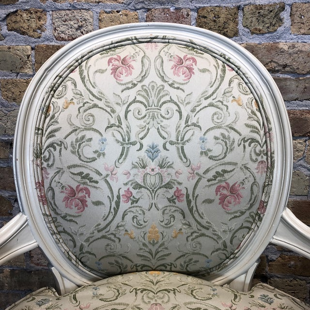 1930s Vintage French Style Upholstered Chairs- a Pair For Sale - Image 11 of 13