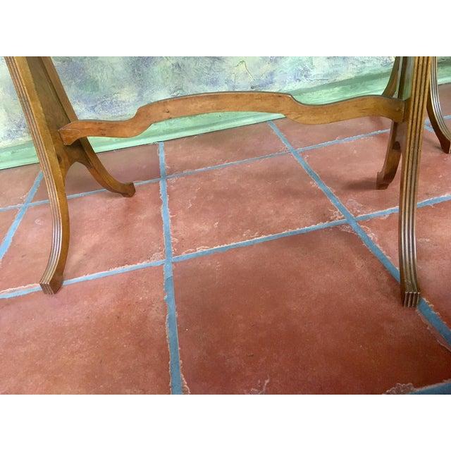 Burlwood Baker Furniture Nesting Tables - Set of 2 For Sale - Image 7 of 13