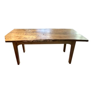 Handcrafted Live Edge Table For Sale