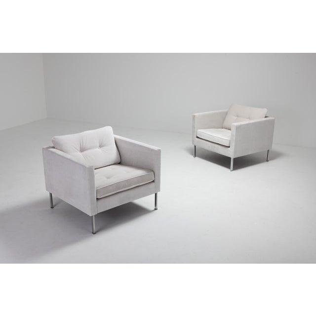 Pierre Paulin 446 Pair of Rare Club Chairs for Artifort For Sale - Image 9 of 10