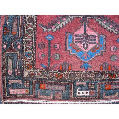 Persian Asad-Abad Hamedan Carpet - 4′ × 7′ - Image 5 of 6
