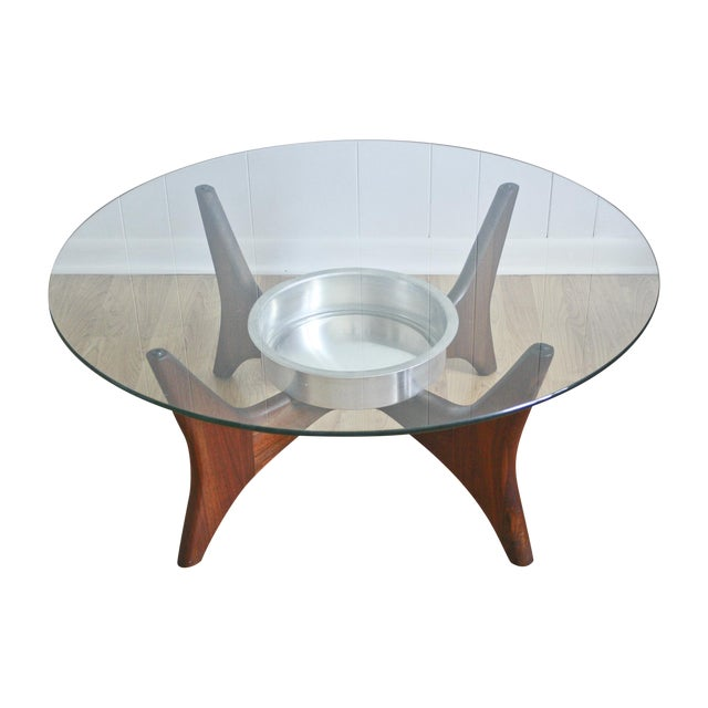 1649-PT Adrian Pearsall Coffee Table W/ Planter - Image 1 of 8