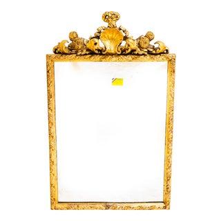 19th Century Italian Gilt Mirror For Sale