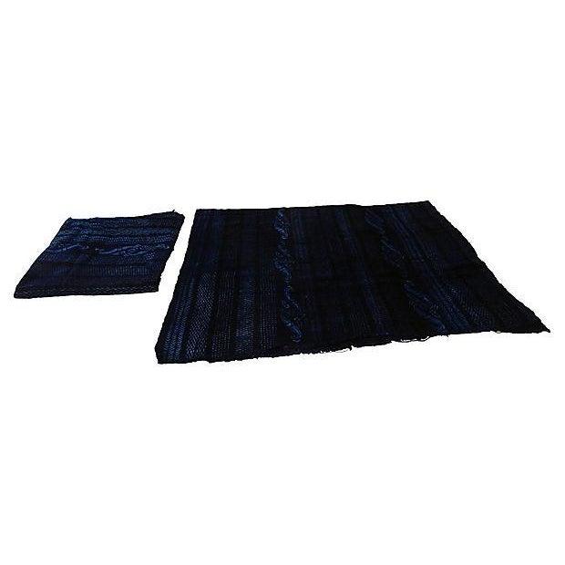 Indigo Mali Textiles - A Pair - Image 7 of 8