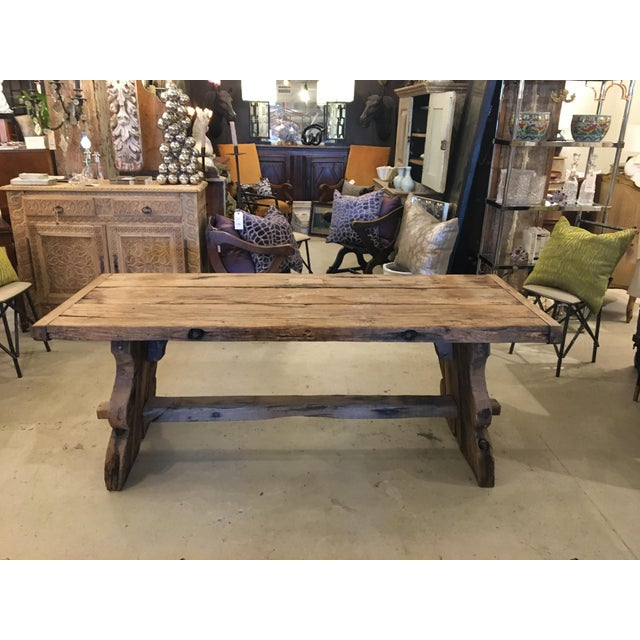 Primitive Spanish TABLE - Image 9 of 9
