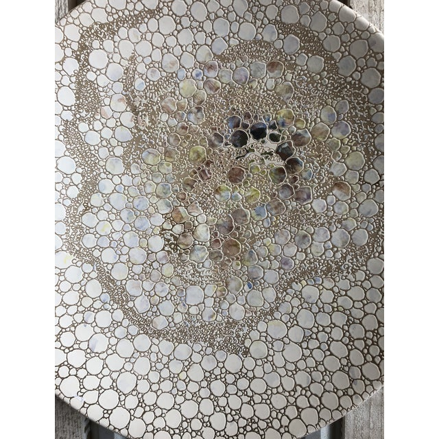Large Italian pottery wall art by S.Stefano