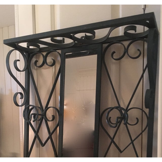Vintage French Iron Coat and Umbrella Stand - Image 4 of 5