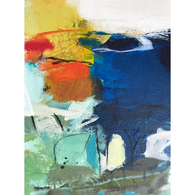 "2010s Gina Cochran ""Let's Play Pretend"" Large Original Abstract Painting For Sale - Image 5 of 12"
