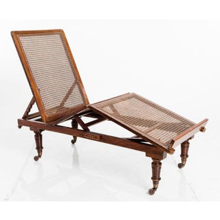 Antique Conservatory Chaise Lounges — a Pair Preview