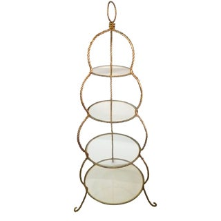Gilden Italian Braided Rope Etagere