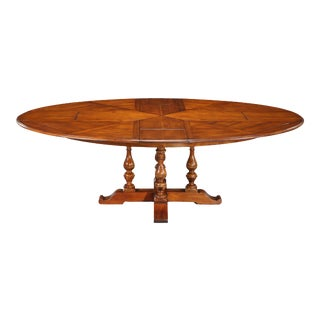 Sarreid Oval Jupe Dining Table For Sale
