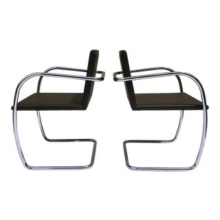 Mies Van Der Rohe Brno Chairs for Knoll - a Pair For Sale