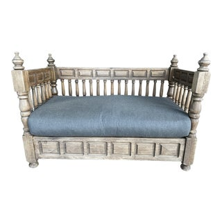 Early 20th Century European Wood Daybed For Sale