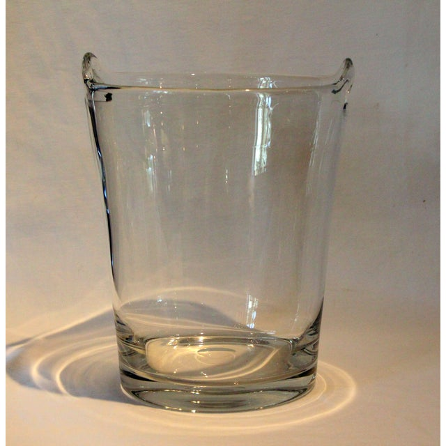 Italian Glass Handle Champagne Cooler - Image 2 of 5