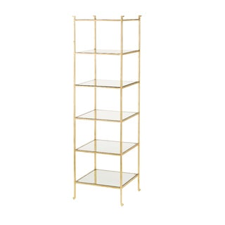 Currey & Co. Delano Etagere For Sale