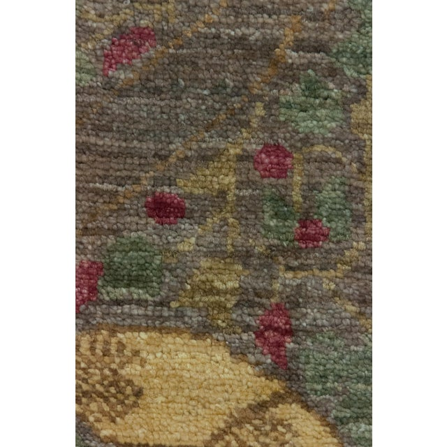 "Arts & Crafts Arts & Crafts, Hand Knotted Area Rug - 8'2"" X 9'6"" For Sale - Image 3 of 3"