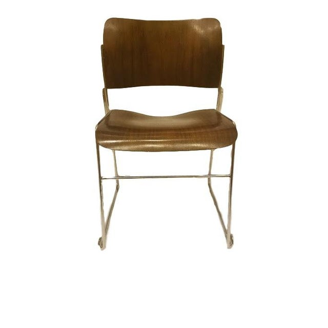 David Rowland 1977 Stacking Sled Chair - Image 2 of 4