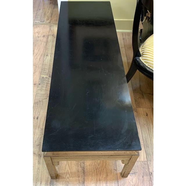 Mid 20th Century Mid Century Asian Style Bench, Coffee Table For Sale - Image 5 of 6