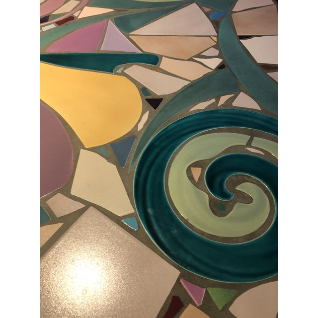 Mosaic Coffee Table by Steve Chase For Sale In New York - Image 6 of 8