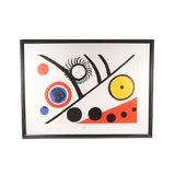 """Image of 1976 Vintage Alexander Calder """"Derriere Le Miroir"""" Lithograph For Sale"""