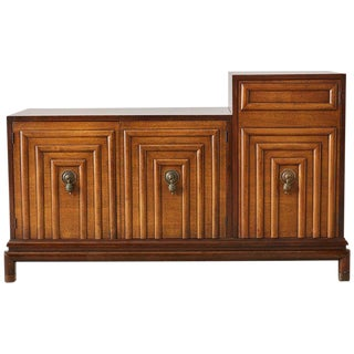 Mid Century Renzo Rutili Walnut Cabinet or Credenza For Sale