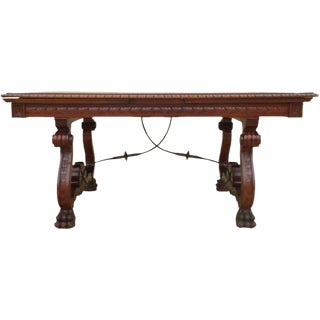 Spanish Antique Dining Table