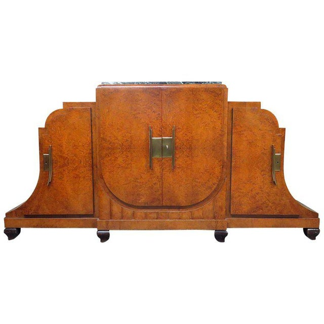 Camard Art Deco Marble-Top Sideboard For Sale - Image 11 of 11