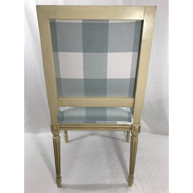 Louis 16th Style Arm Chair For Sale - Image 4 of 6