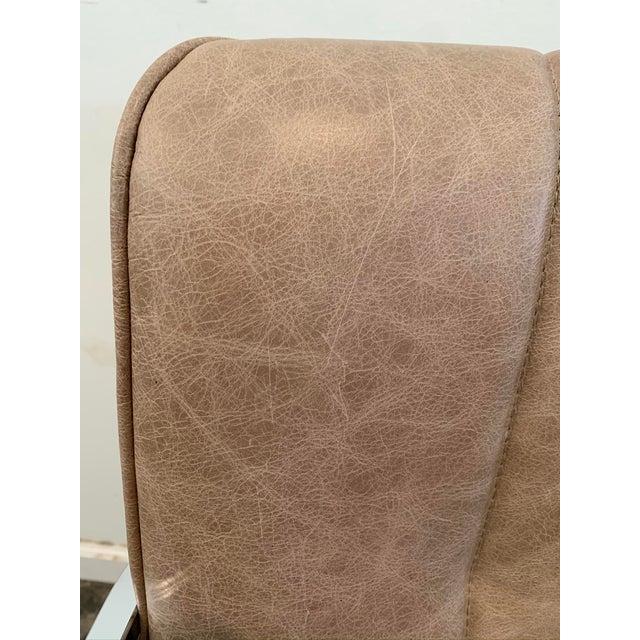 1980s Swivel Rocker Desk Chair For Sale - Image 9 of 11
