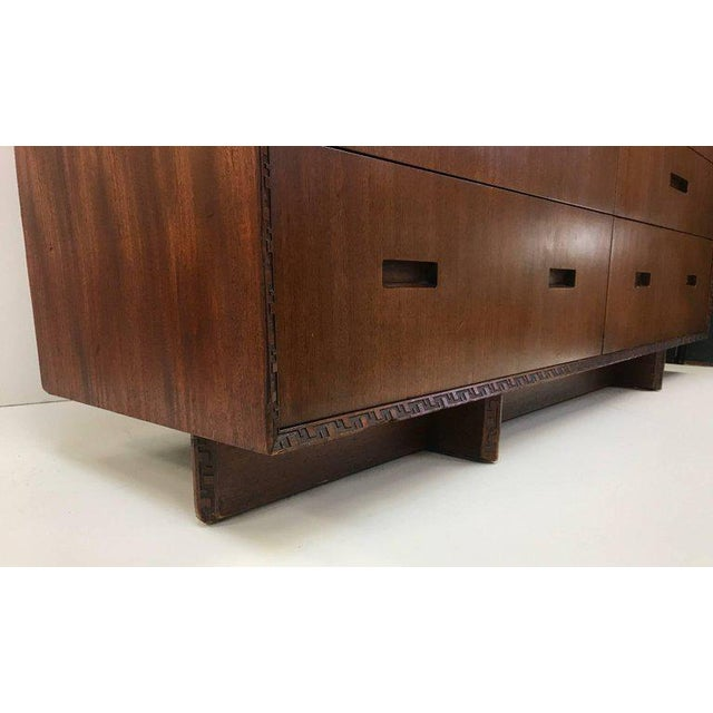 Henredon Taliesin Dresser by Frank Lloyd Wright For Sale - Image 4 of 7
