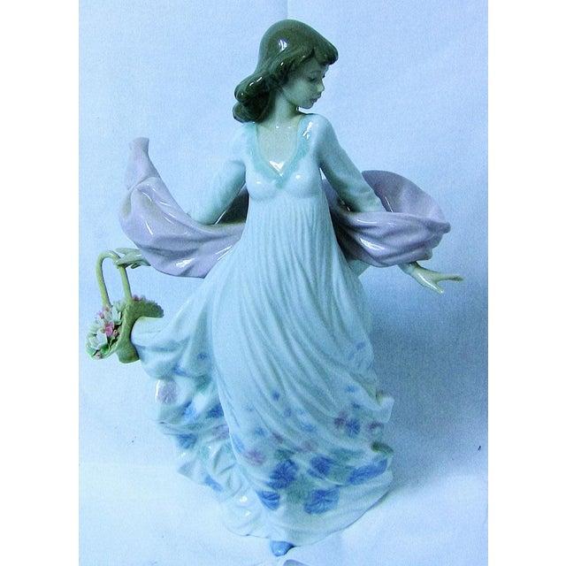 Lladro Spanish Porcelain Figurine of Spring Splendor (Retired) For Sale - Image 11 of 13