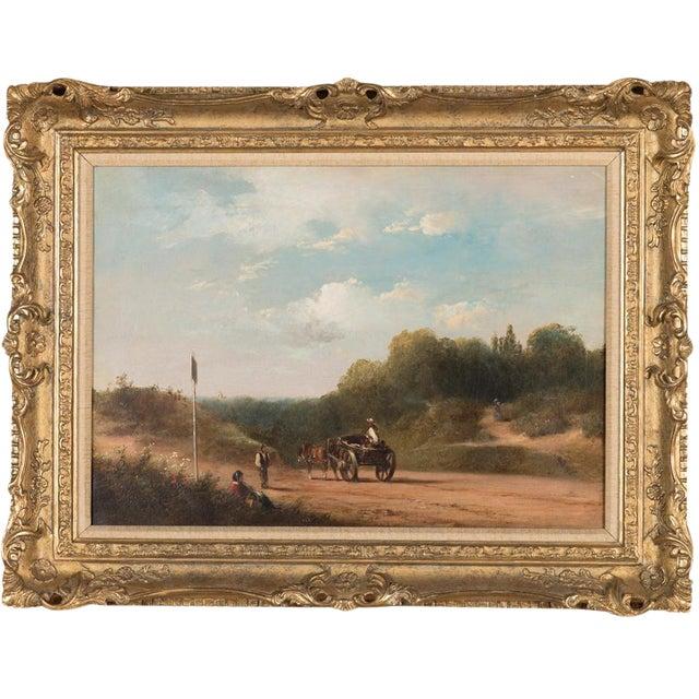 19th-C. Sussex Landscape by E. J. Niemann For Sale